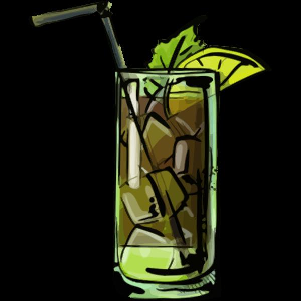 Cuba libra cocktail