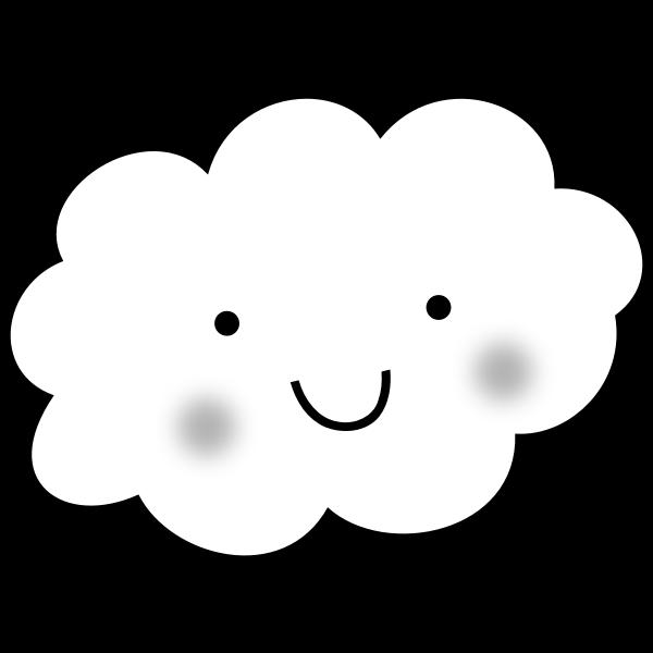 Cute Cloud - Coloring Book
