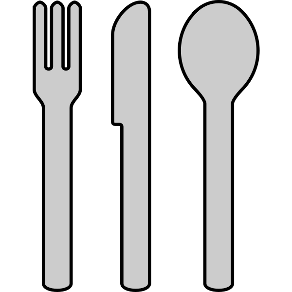 Cutlery vector icons
