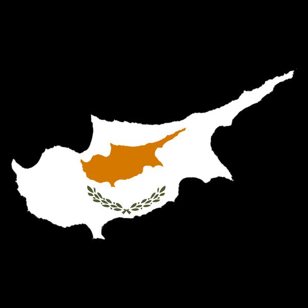 Cyprus Map Flag