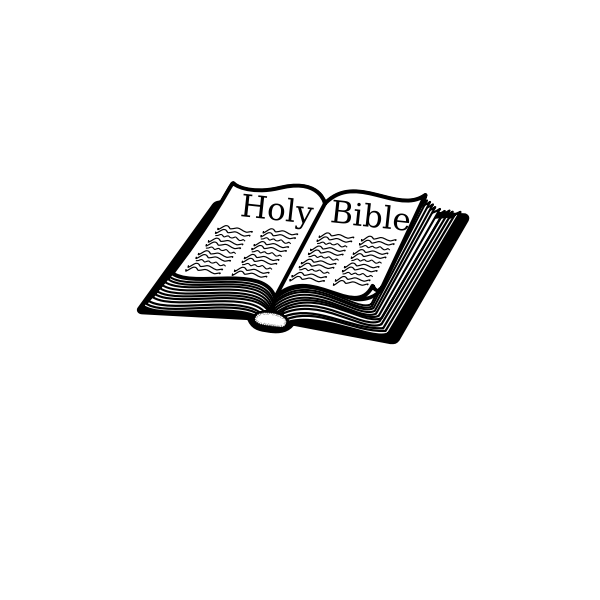 Vector clip art of Holy Bible