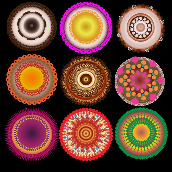 Decorative circles