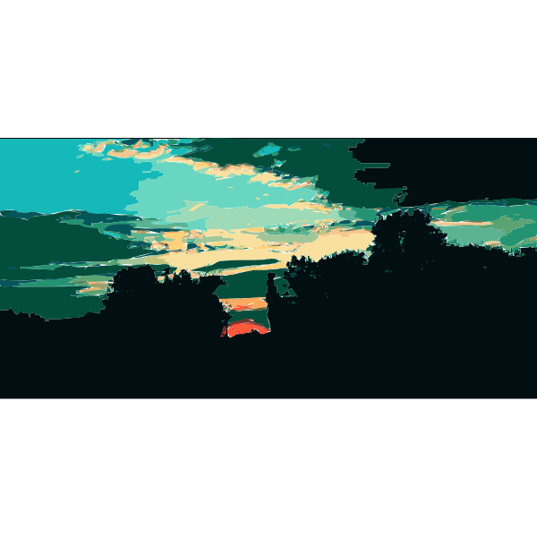Daily Sketch 16 Sunset 2015051333