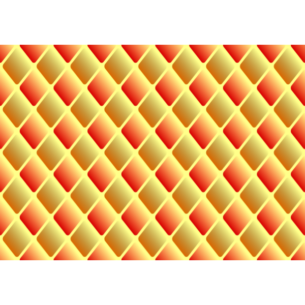 Diamond pattern in orange color
