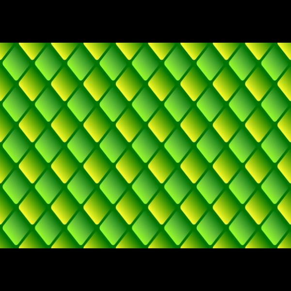 Diamond pattern in green