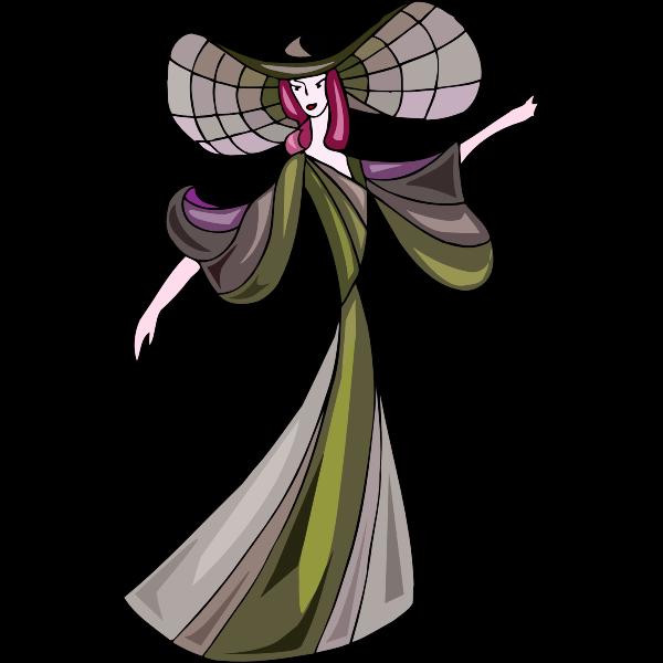 Glam lady