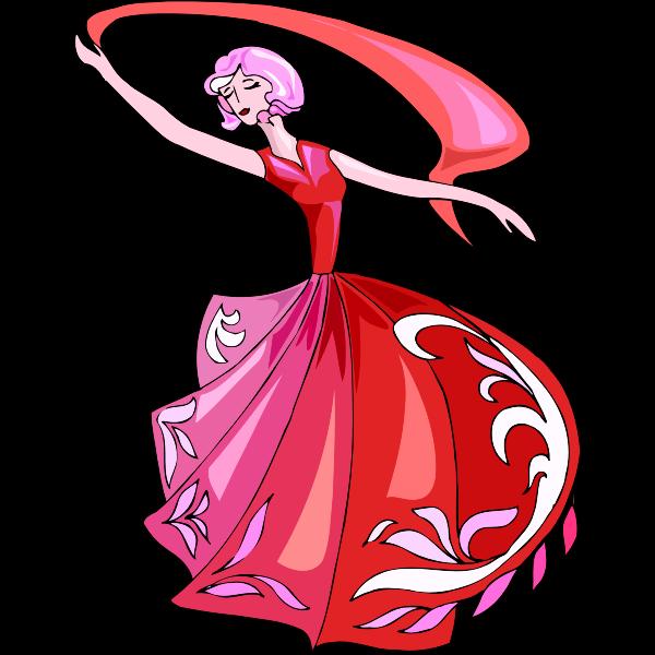 Flamenco danseuse