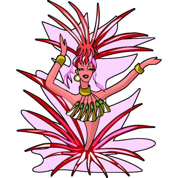 Tropical danseuse
