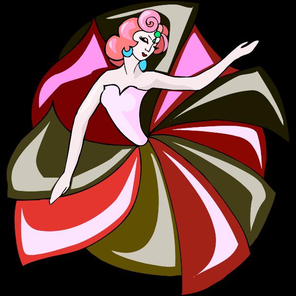 Floral dancer