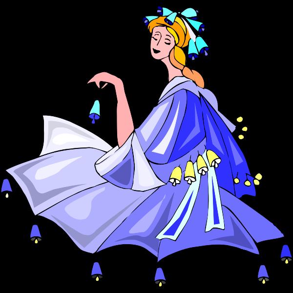 Dancer with bells