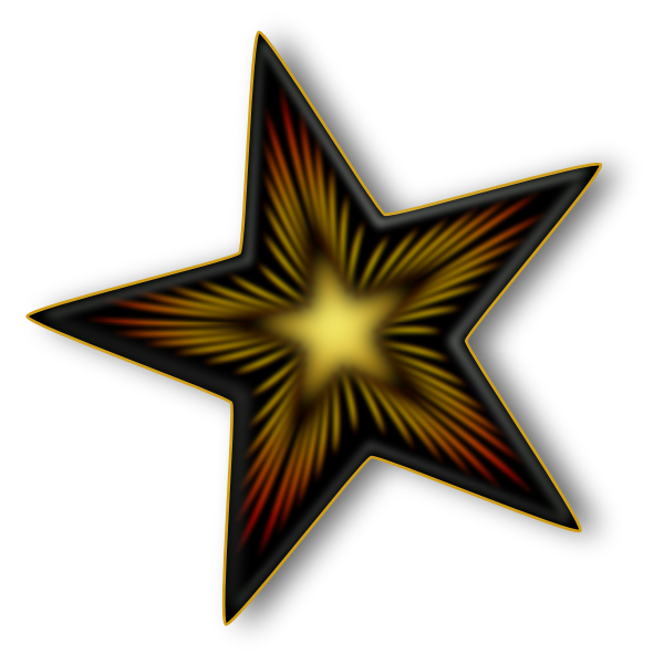 Dark Star Vector
