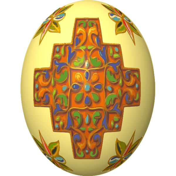 Decorated Egg (#3)