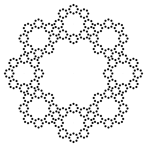 Decorative Circles Frame