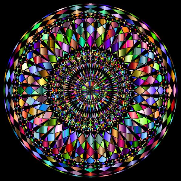 Decorative Mandala II Prismatic