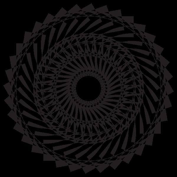 Decorative Mandala IX