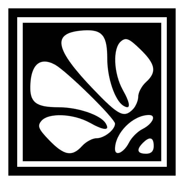 Decorative square flower