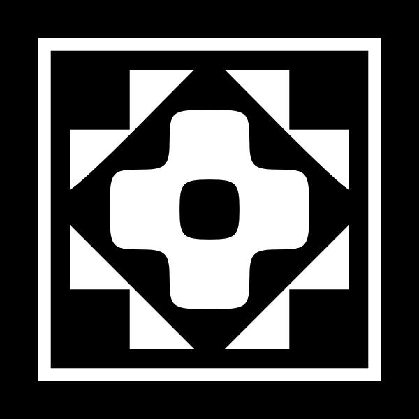 Decorative square symbol