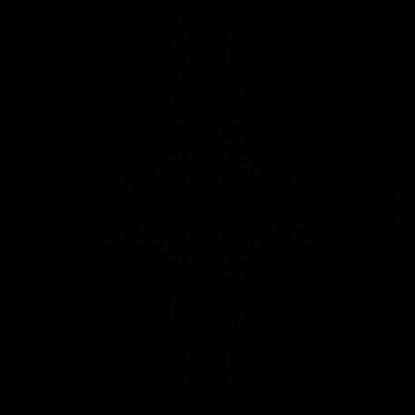 Decorative Vintage Style Cross