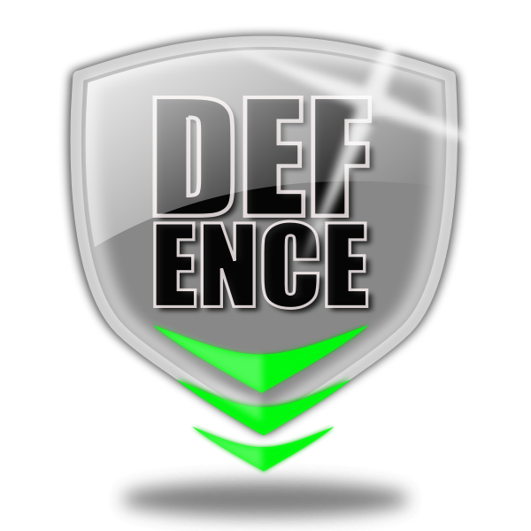 Defence logo shield