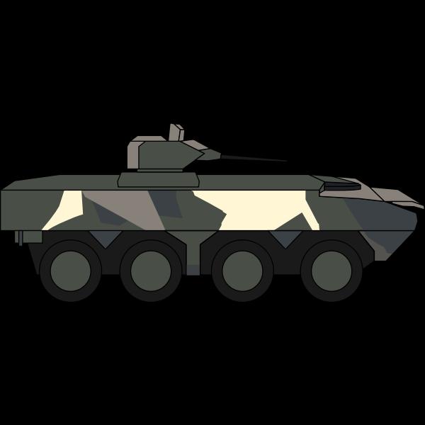 Military vehicle illustration