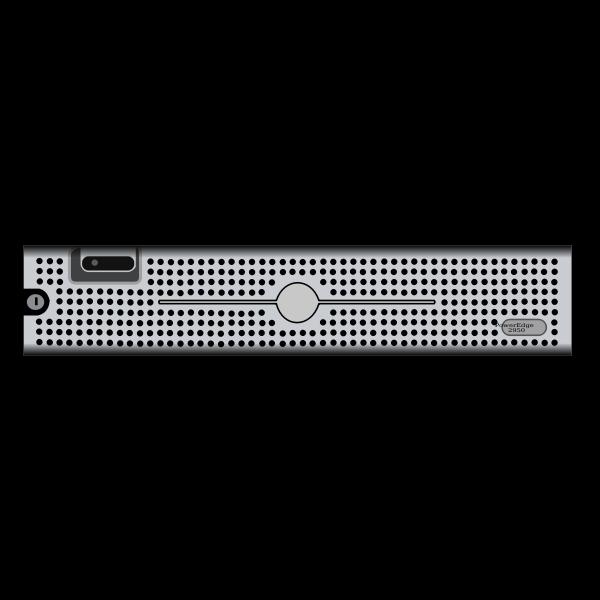 Dell PE2950 server vector drawing
