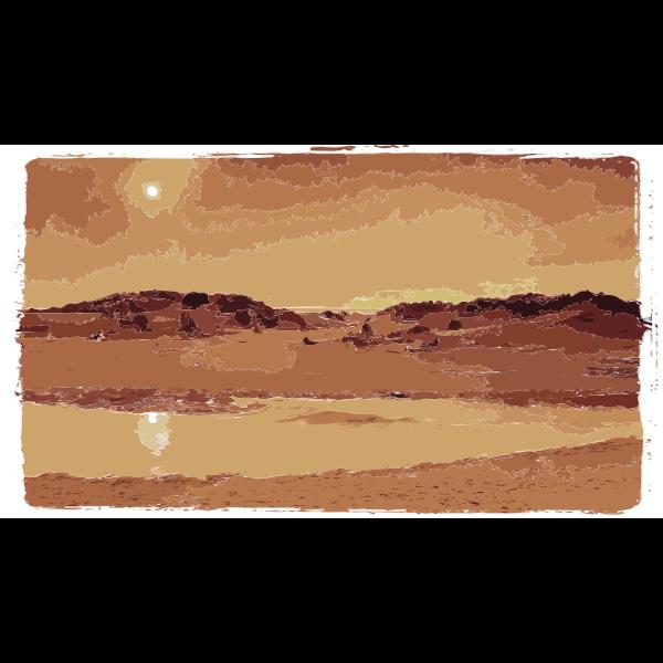 Desert Sunset 2 2015052028