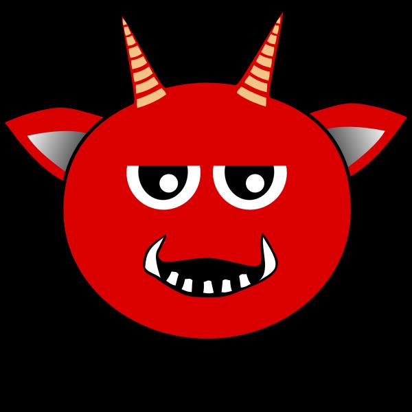 Little Red Devil cartoon vector image