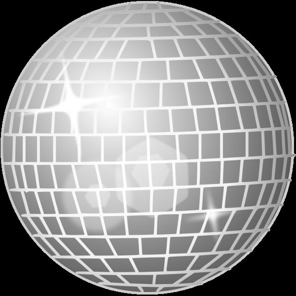 Disco ball vector graphics