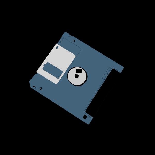 Computer diskette vector clip art
