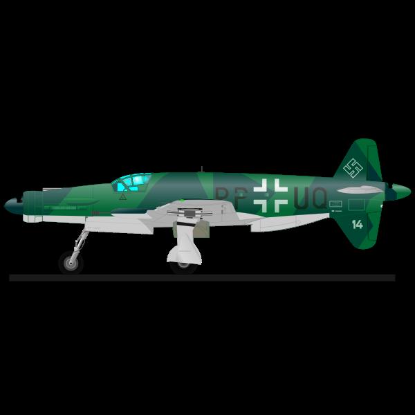 Dornier military airplane
