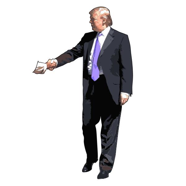 Donald Trump Handshake 2015072950