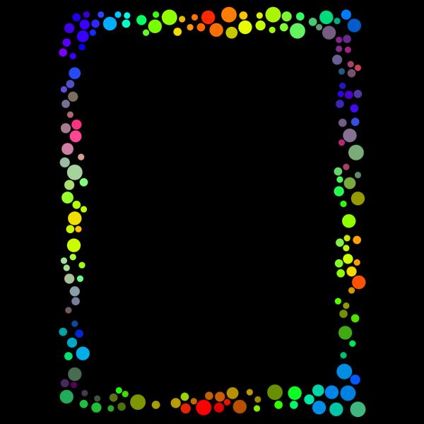 Dotty border image