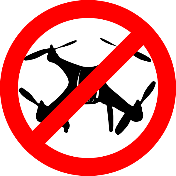 Drone not allowed