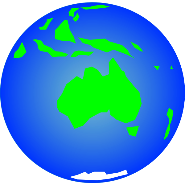 Globe vector clip art
