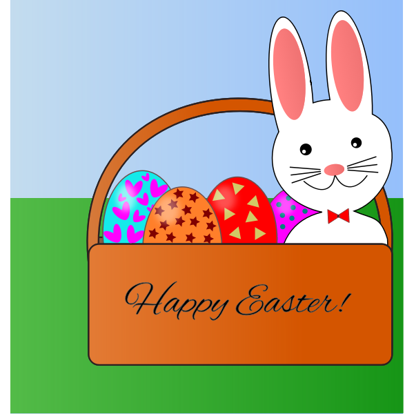 Easter Bunny Basket remix