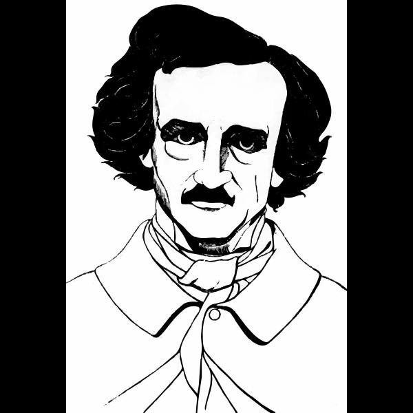 Edgar Allan Poe Aubrey Beardsley Free Svg