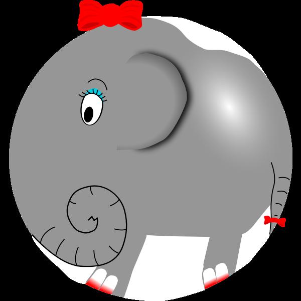 Female elephant