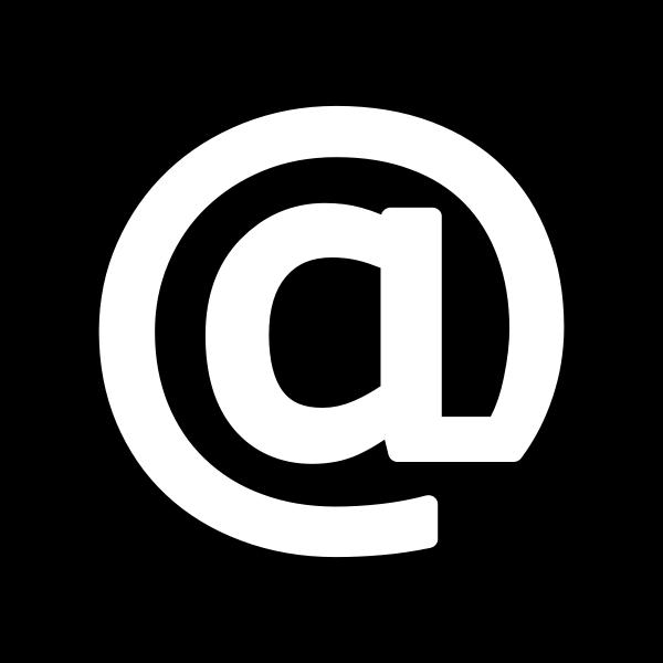 @ Icon - White on Black
