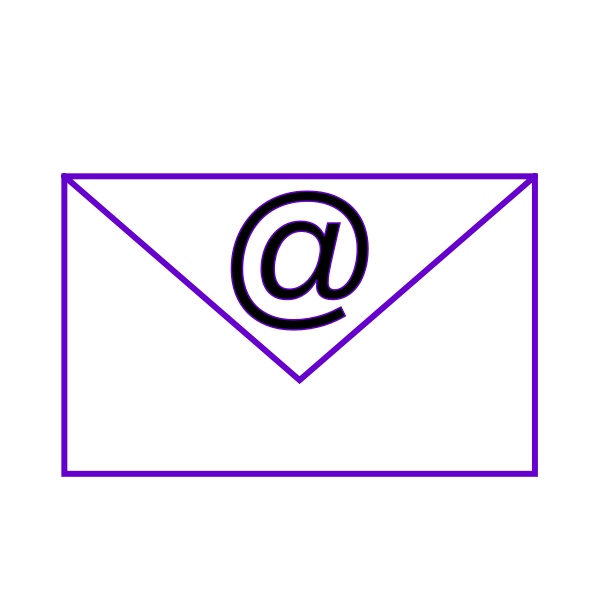 Envelope e-mail sign