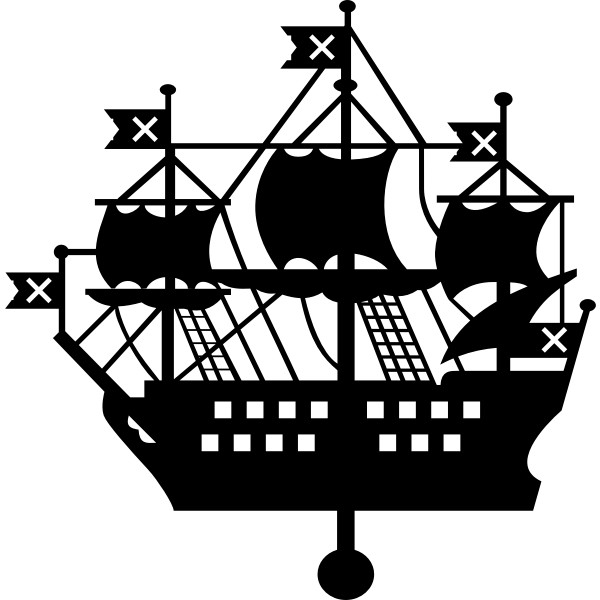 St Petersburg Admiralty emblem vector image