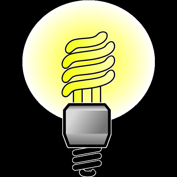 Energy Saver Lightbulb Bright