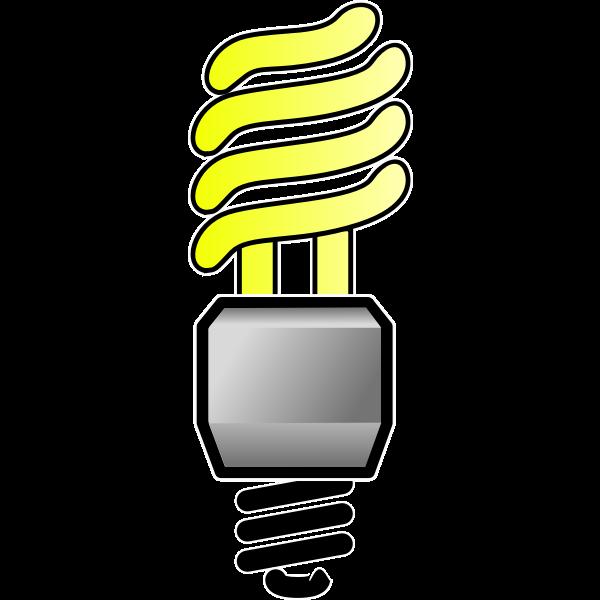 Energy Saver Lightbulb On