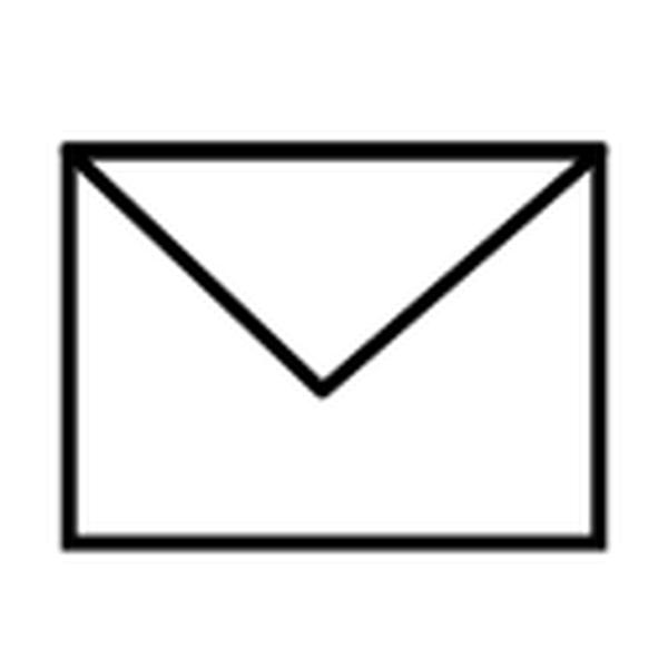 Envelope Closed B&W