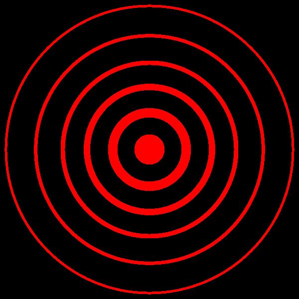 Epicenter map symbol