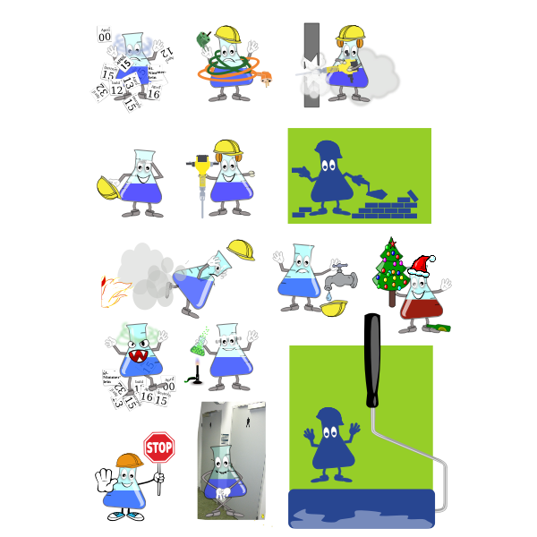 Laboratory mascot