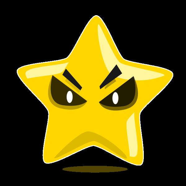 Evil star character