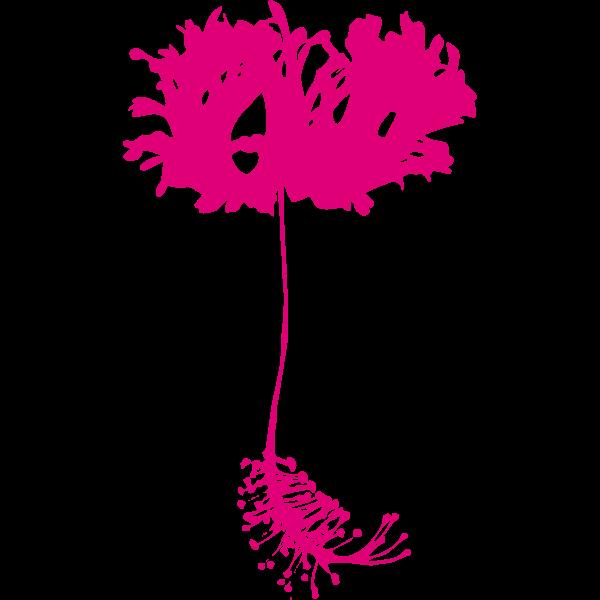 Exotic flower 2017042429
