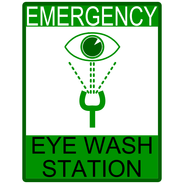 Emergency Eye Wash Station