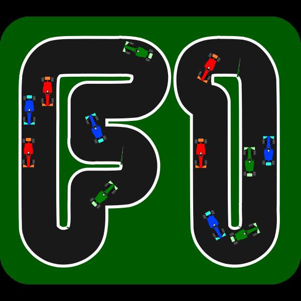 F1 Sign