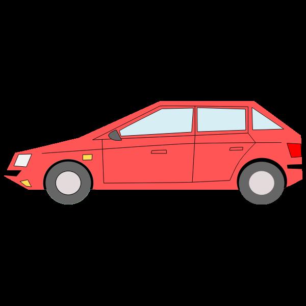 Passenger car hatchback